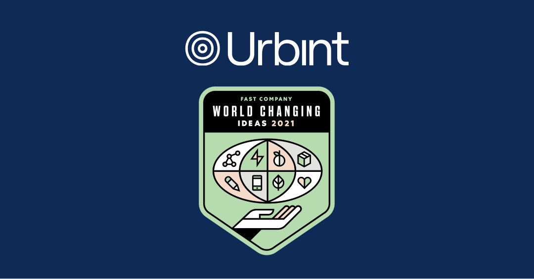 Urbint Named to Fast Company's 2021 List of World Changing Ideas