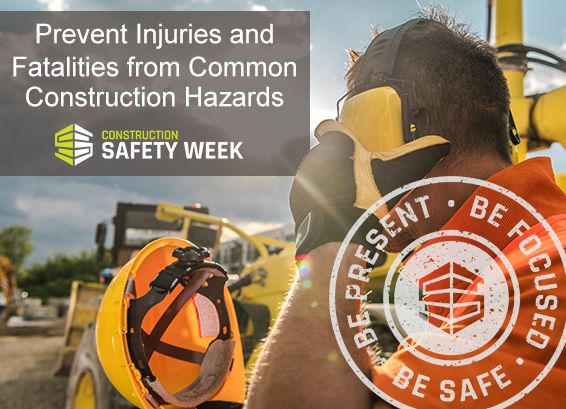 prevent injuries common construction hazards construction industry institute